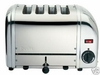 Dualit Toaster VARIO 4 slot polished