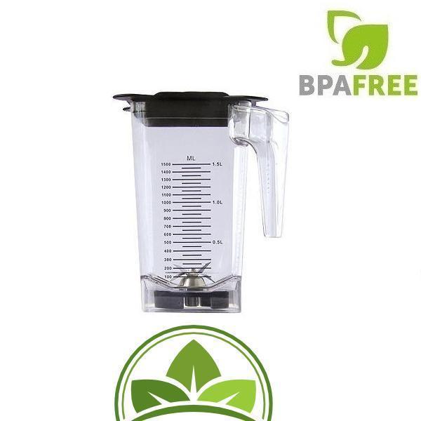 JTC OmniBlend 1,5 Liter.Tritan Behälter BPA-frei Stößel